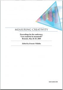 Measuring Creativity Consulenze Irene Tinagli