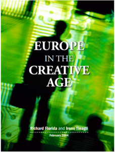 EUROPE IN THE CREATIVE AGE, DEMOS, 2004